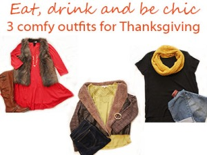 3 comfy outfits for Thanksgiving