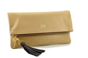 My Favorite Things - Monogrammed Foldover Clutch