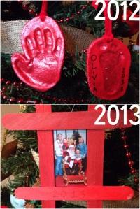 Christmas with kids: DIY Ornaments kids can make