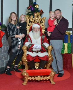 Christmas with kids: Visit with Santa